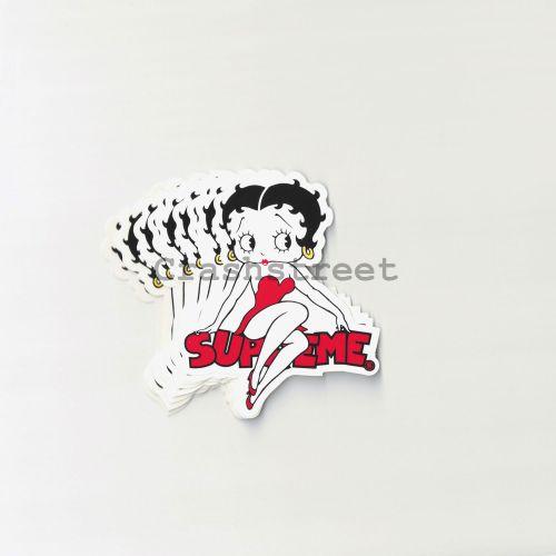 Betty Boop Sticker (Set of 10)