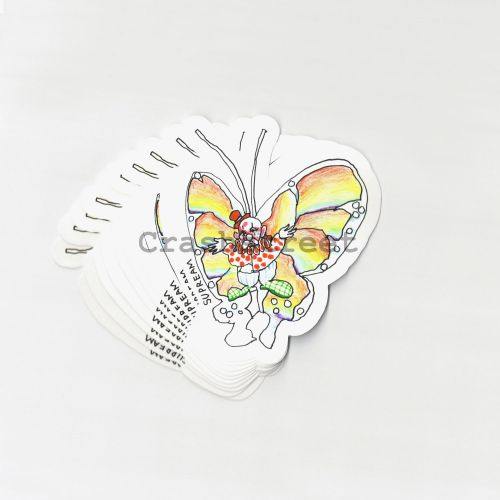 Gonz Butterfly Sticker (Set of 10)