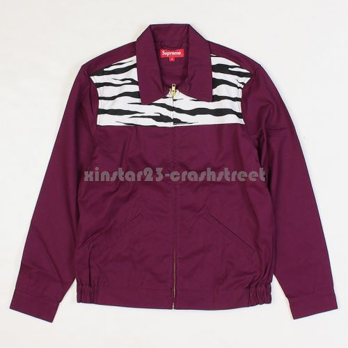 Garage Zebra Camo Jacket - Purple
