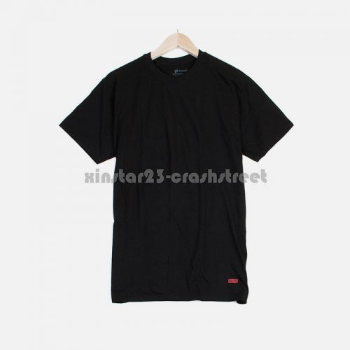 Hanes Tee Pack Of 3 in Black