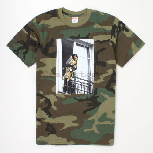 ANTIHERO Balcony Tee in Camo