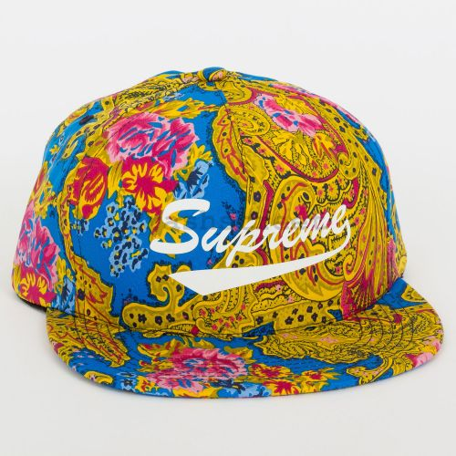 Paisley 5-Panel - Royal