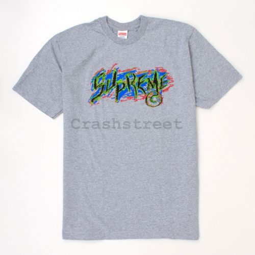 Scratch Tee in Grey