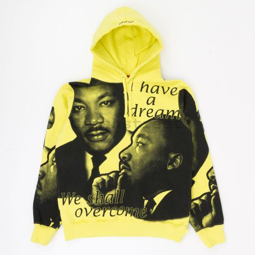 MLK Hooded Sweatshirt - Yellow
