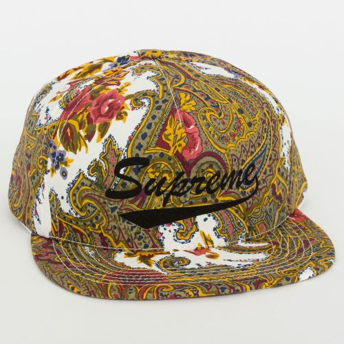 Paisley 5-Panel in White