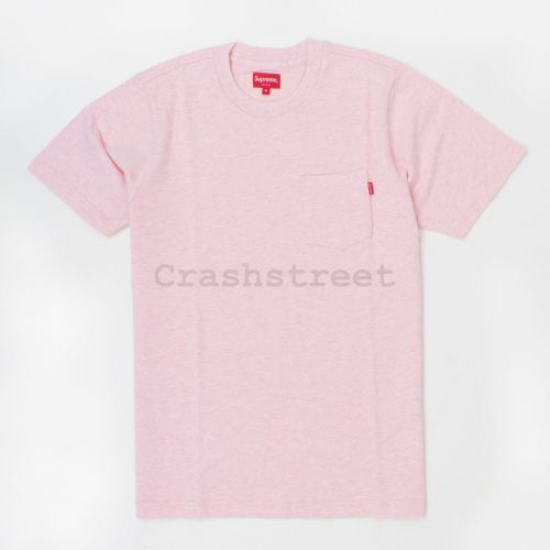 Pocket Tee (ss17) in Pink