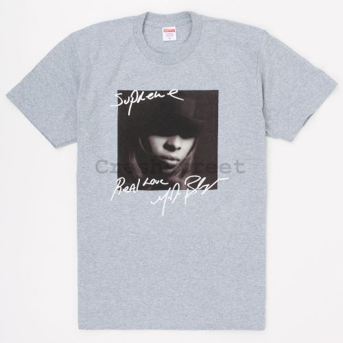 Mary J. Blige Tee - Grey