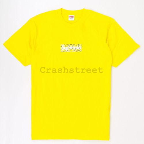 Bandana Box Logo Tee in Yellow