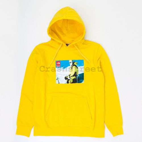 The North Face Photo Hooded Sweatshirt in Gold