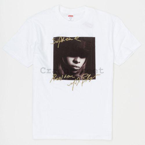 Mary J. Blige Tee in White