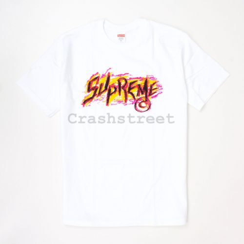 Scratch Tee in White