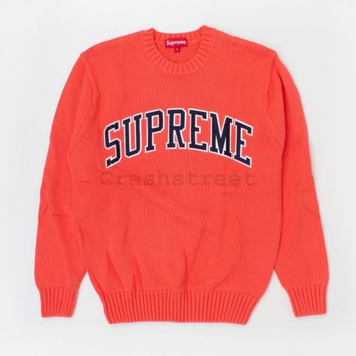 Tackle Twill Sweater (ss16) in Coral