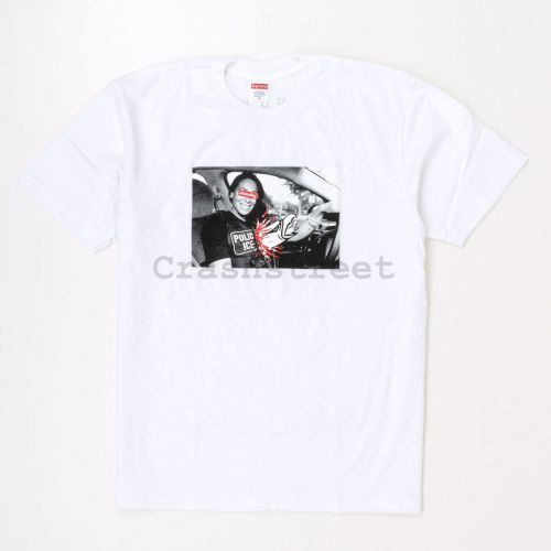 ANTIHERO ICE Tee in White