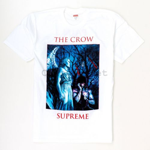 The Crow Tee in White