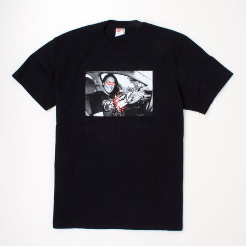 ANTIHERO ICE Tee in Black