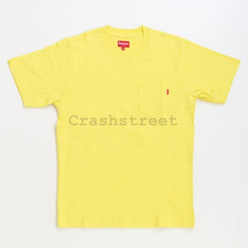 Pocket Tee in Yellow