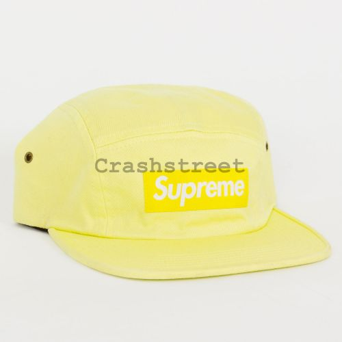 Washed Chino Twill Camp Cap - Light Green