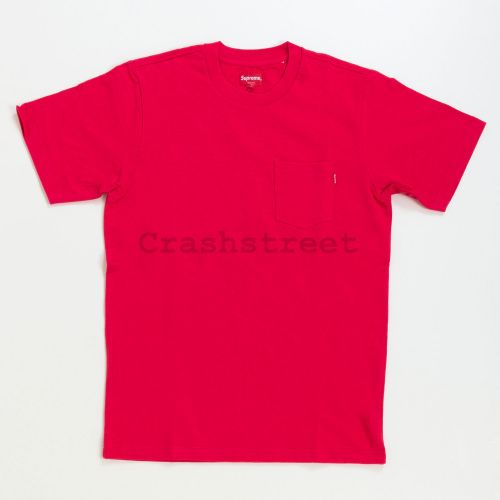 Pocket Tee - Red