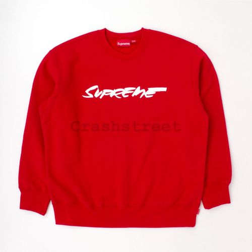 Futura Logo Crewneck - Red