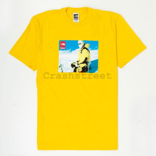 The North Face Photo Tee in Gold