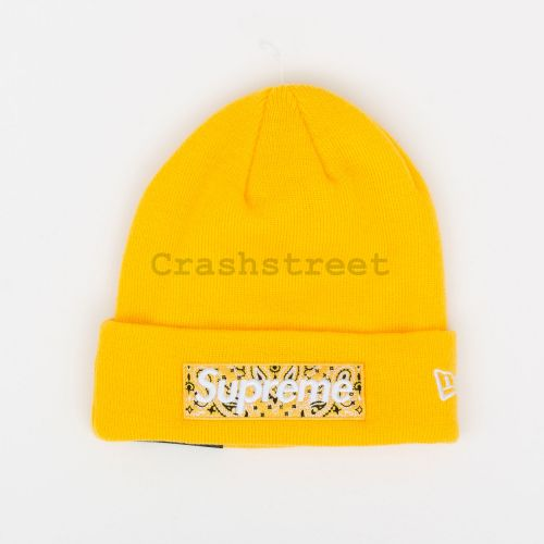 New Era Box Logo Beanie - Yellow