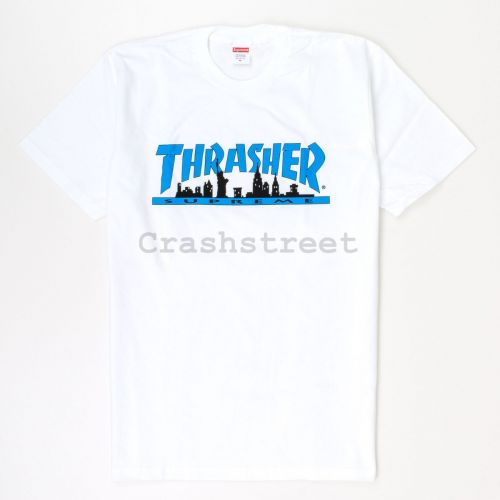 Thrasher Skyline Tee in White