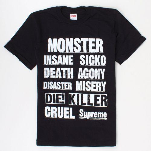 Monster Tee in Black