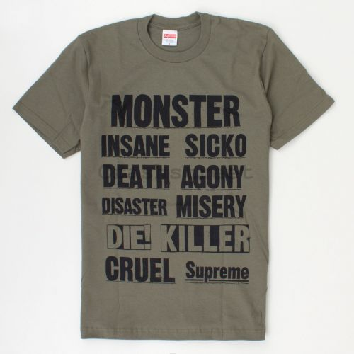 Monster Tee in Olive