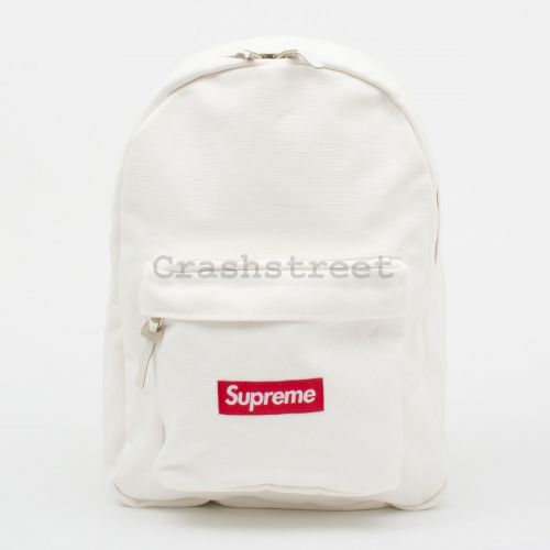 Canvas Backpack - White