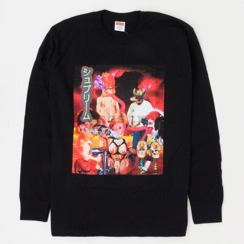 Sekintani L/S Tee in Black