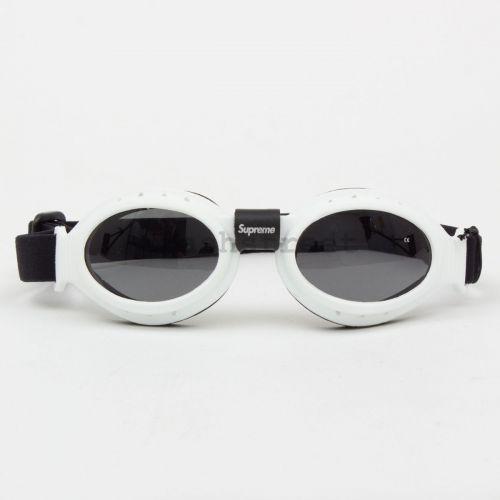 Stone Island Baruffaldi Rek Goggles in White