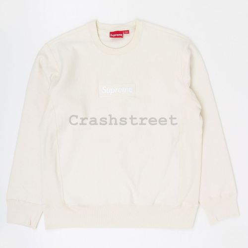 Box Logo Crewneck in White