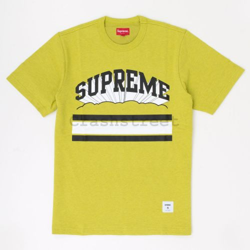 Cloud Arc Tee in Mustard