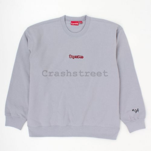 Gonz Logo Crewneck in Grey