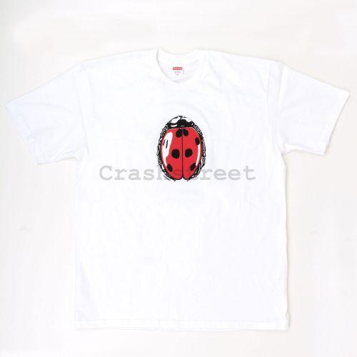 Ladybug Tee - White