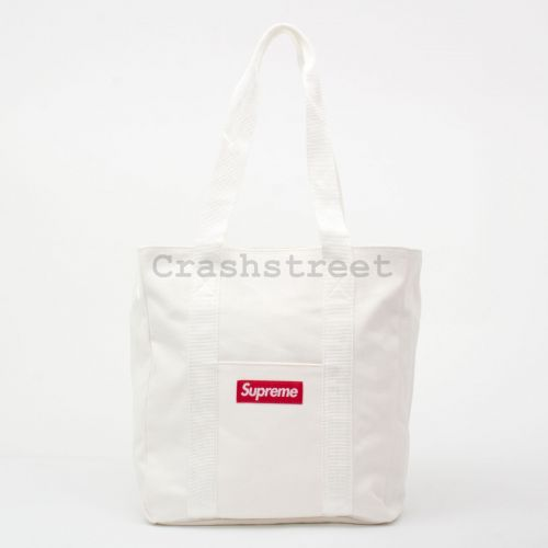 Canvas Tote - White