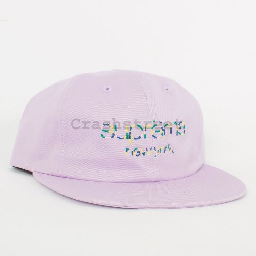 Multi Color Twill Classic Logo 6-Panel - Purple