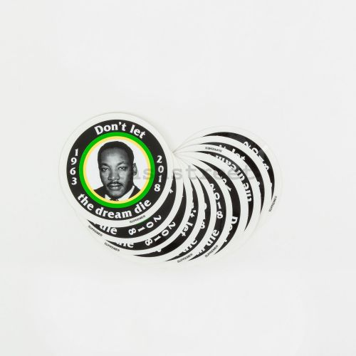 MLK Sticker (set of 10) in Black