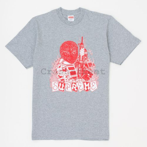 Mercenary Tee in Grey