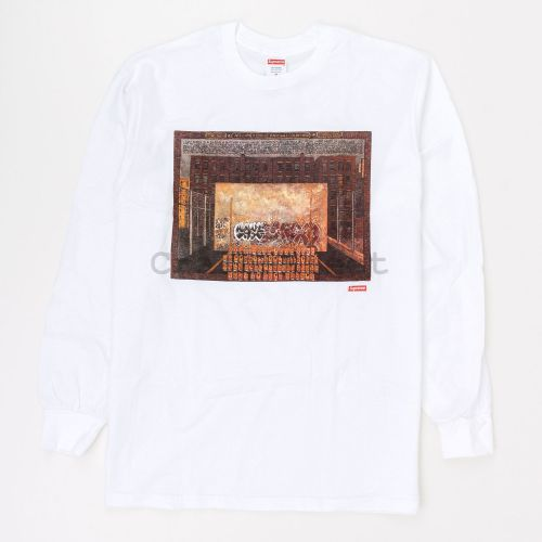 Martin Wong Attorney Street L/S Tee in White