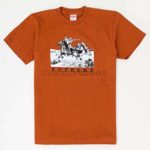 Riders Tee in Rust