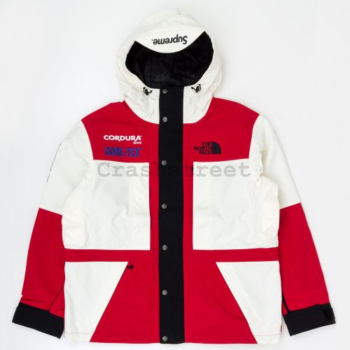 The North Face Expedition Jacket in Red / White