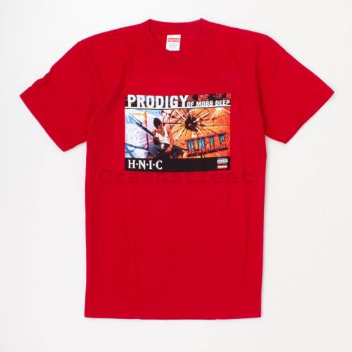 HNIC Tee in Red