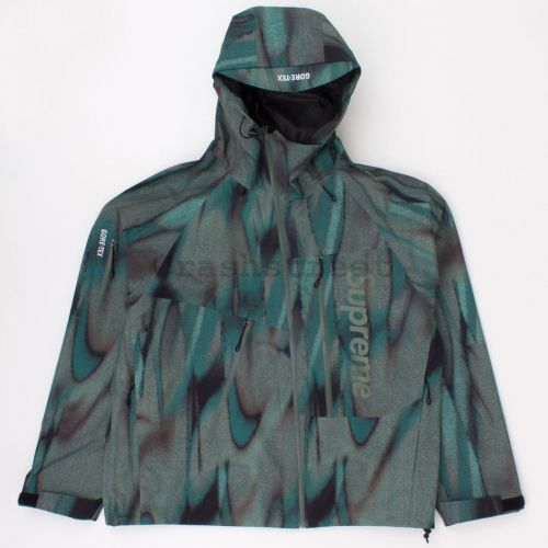 Gore-Tex Paclite Shell Jacket in Olive