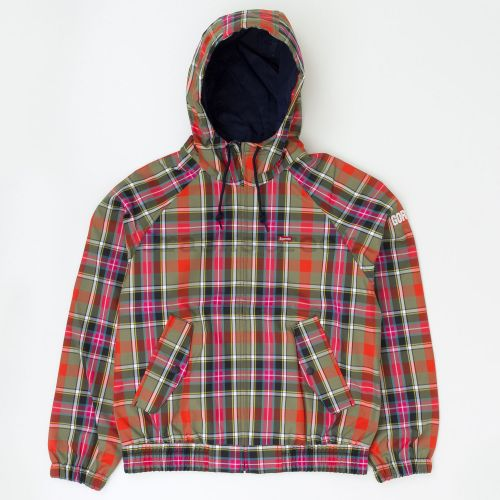 GORE-TEX Hooded Harrington Jacket in Plaid