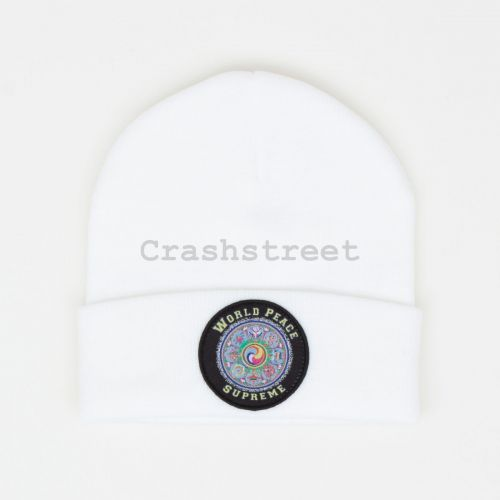 World Peace Beanie - White