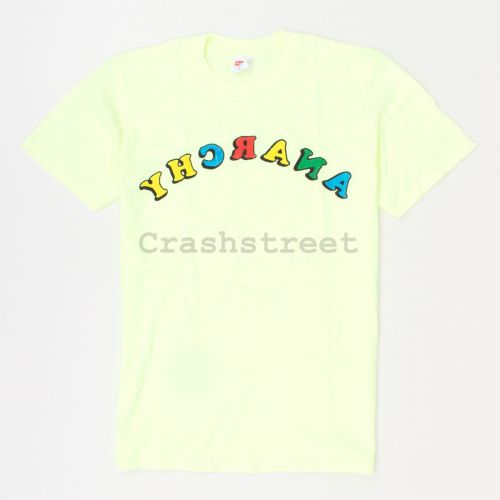 Anarchy Tee in Yellow