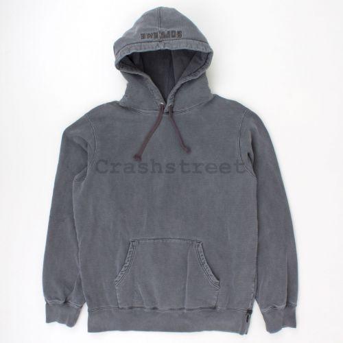 Overdyed Hooded Sweatshirt in Black