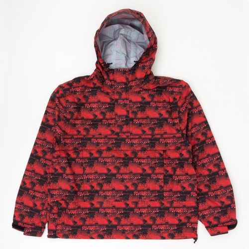 World Famous Taped Seam Hooded Pullover - Red
