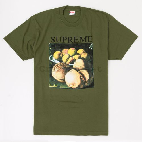 Still Life Tee in Olive